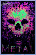 Load image into Gallery viewer, Posters Metal to the Bone - Black Light Poster 100144