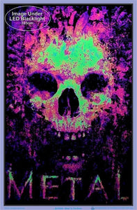 Posters Metal to the Bone - Black Light Poster 100144