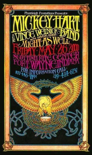 Posters Mickey Hart Band - Concert Poster po-113