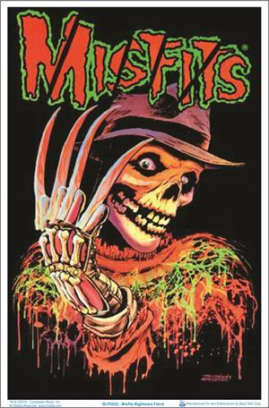 Posters Misfits - Nightmare Fiend - Black Light Poster