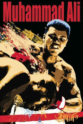 Posters Muhammad Ali - Black Light Poster 100164