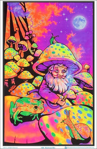 Posters Mushroom Man - Black Light Poster 007718