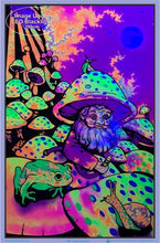 Load image into Gallery viewer, Posters Mushroom Man - Black Light Poster 007718