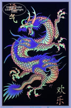 Load image into Gallery viewer, Posters Mystic Asian Dragon - Black Light Poster 006154