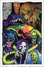 Load image into Gallery viewer, Posters Nightmare Creatures - Black Light Poster 100136