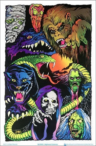 Posters Nightmare Creatures - Black Light Poster 100136