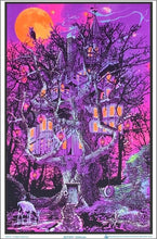 Load image into Gallery viewer, Posters Opticz - Treehouse - Black Light Poster 008197