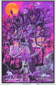 Posters Opticz - Treehouse - Black Light Poster 008197