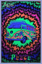 Load image into Gallery viewer, Posters Peace Bus - Black Light Poster 100088