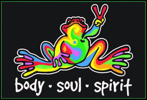 Posters Peace Frog - Black Light Poster 010025