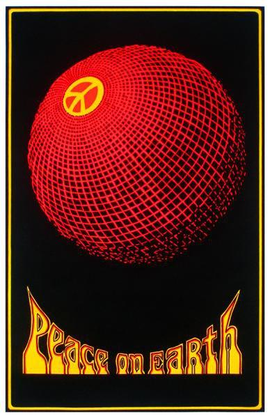 Posters Peace on Earth - Black Light Poster 000530