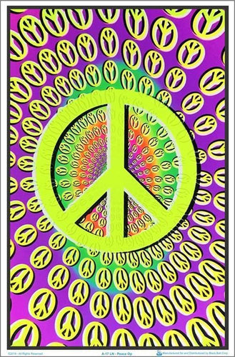 Posters Peace Op - Black Light Poster 003526