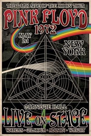 Posters Pink Floyd - Dark Side Tour - Poster 010018