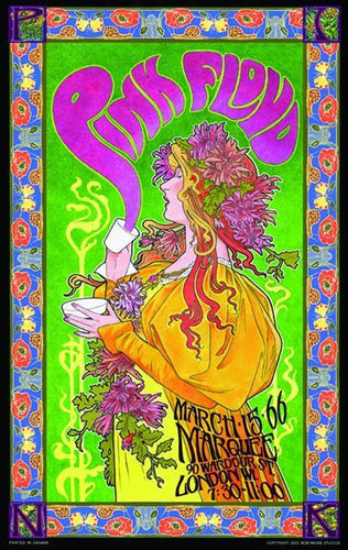 Posters Pink Floyd - Mad Hatter's Tea Party - Concert Poster po-198