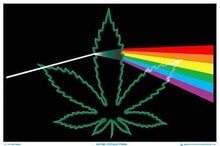 Load image into Gallery viewer, Posters Pot Leaf Prism - Black Light Poster 010040