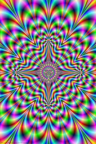Posters Psychedelic Pulse - Poster 000918