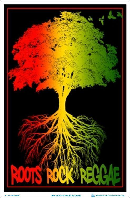 Posters Rasta Roots, Rock, Reggae - Black Light Poster 100073
