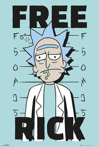 Posters Rick and Morty - Free Rick - Poster 100381
