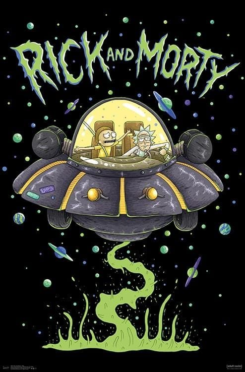 Posters Rick and Morty - Slime Ship - Poster 100384