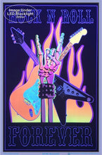 Load image into Gallery viewer, Posters Rock and Roll Forever - Black Light Poster 100153