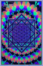Load image into Gallery viewer, Posters Sacred Geometry - Black Light Poster 012303