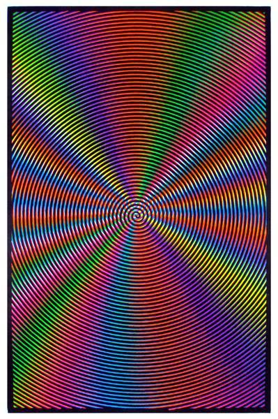 Posters Spiral Illusion - Black Light Poster 000533