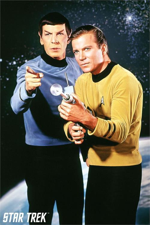 Posters Star Trek - Spock and Kirk - Poster 101015