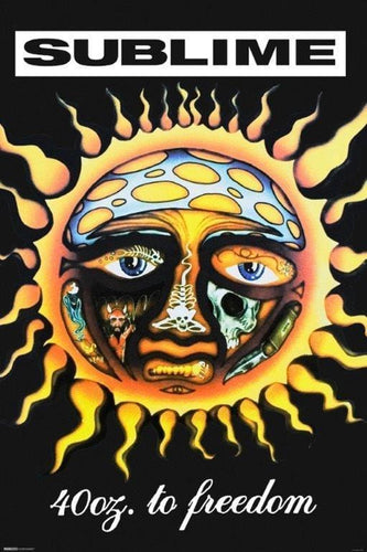 Posters Sublime - 40 oz to Freedom - Poster 008399