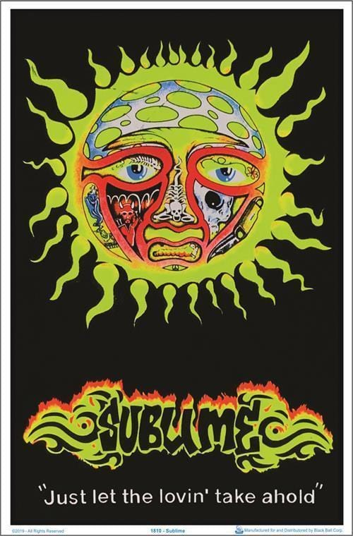 Posters Sublime - Just Let the Lovin Take Ahold - Black Light Poster po-361