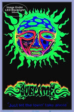 Load image into Gallery viewer, Posters Sublime - Just Let the Lovin Take Ahold - Black Light Poster po-361