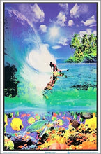 Load image into Gallery viewer, Posters Surf - Black Light Poster 100152