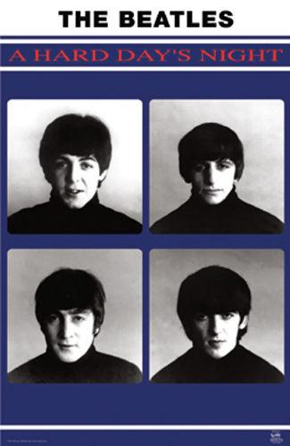 Posters The Beatles - A Hard Day's Night - Poster 100736