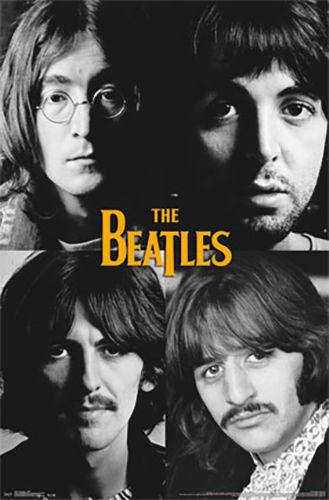 Posters The Beatles - Grid Portraits - Poster 100734