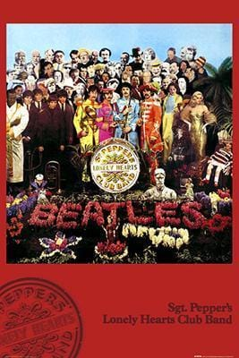 Posters The Beatles - Sgt Pepper's Lonely Hearts Club Band - Poster 100222