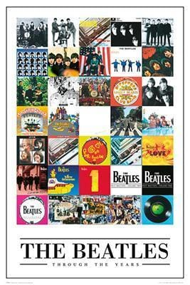 Posters The Beatles - Through the Years - Poster 100223
