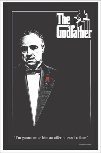 Posters The Godfather - Black Light Poster 100168