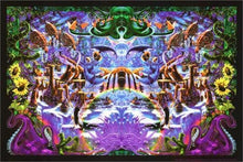 Load image into Gallery viewer, Posters The Octopus Garden - Black Light Poster 000219