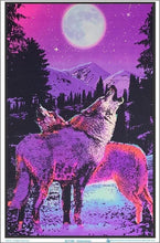 Load image into Gallery viewer, Posters Timberwolves - Black Light Poster 006152