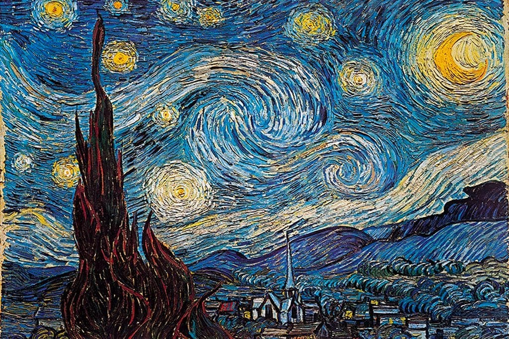 Posters Vincent van Gogh - Starry Night - Poster 007782