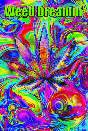 Posters Weed Dreamin - Poster 100324