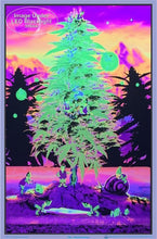 Load image into Gallery viewer, Posters Weed Gnomes - Black Light Poster 012304