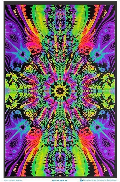 Posters Wormhole - Black Light Poster 005195