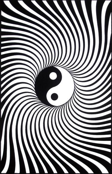 Posters Yin-Yang - Black Light Poster po-377