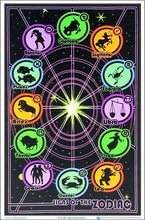 Load image into Gallery viewer, Posters Zodiac Astrology - Black Light Poster 100173
