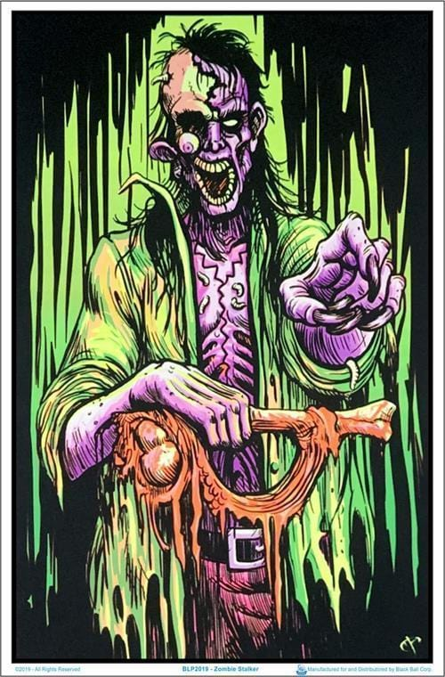 Posters Zombie Stalker - Black Light Poster 100140