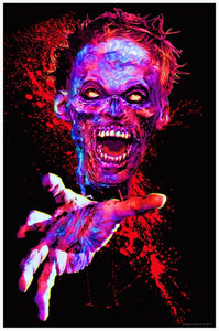 Posters Zombie Touch - Black Light Poster 100349