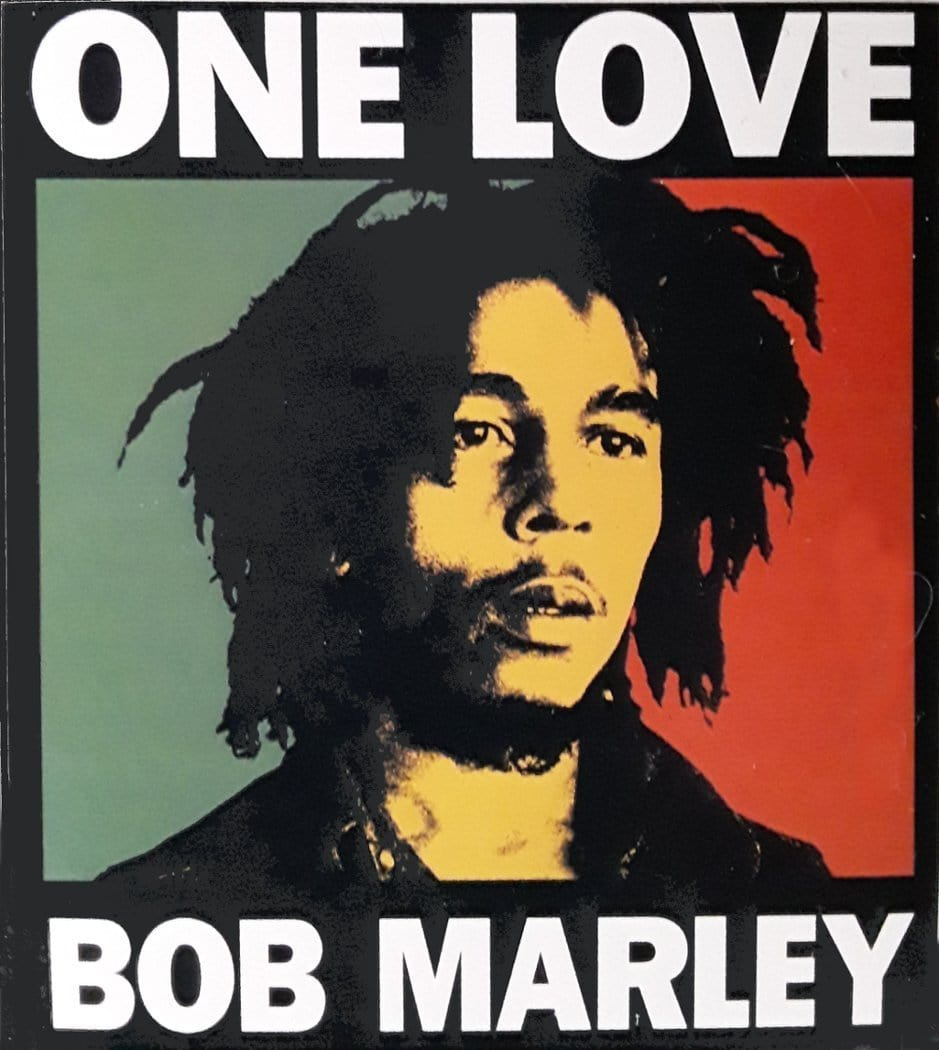 Stickers Bob Marley - One Love - Sticker 002417