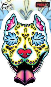 Stickers Cali Pit Bull Day of the Dead - Sticker 100571