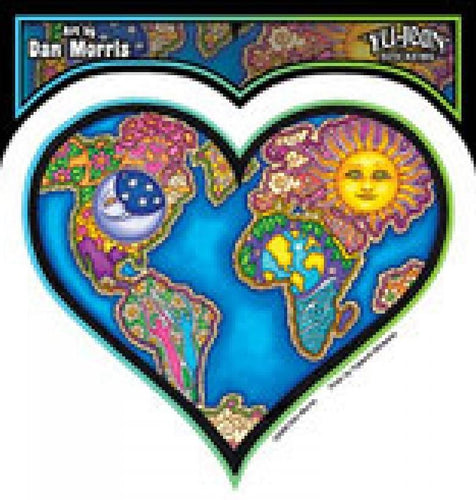 Stickers Dan Morris - Earth Heart - Sticker 100553
