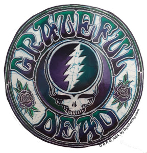 Stickers Grateful Dead - Batik Steal Your Face - Sticker 002390